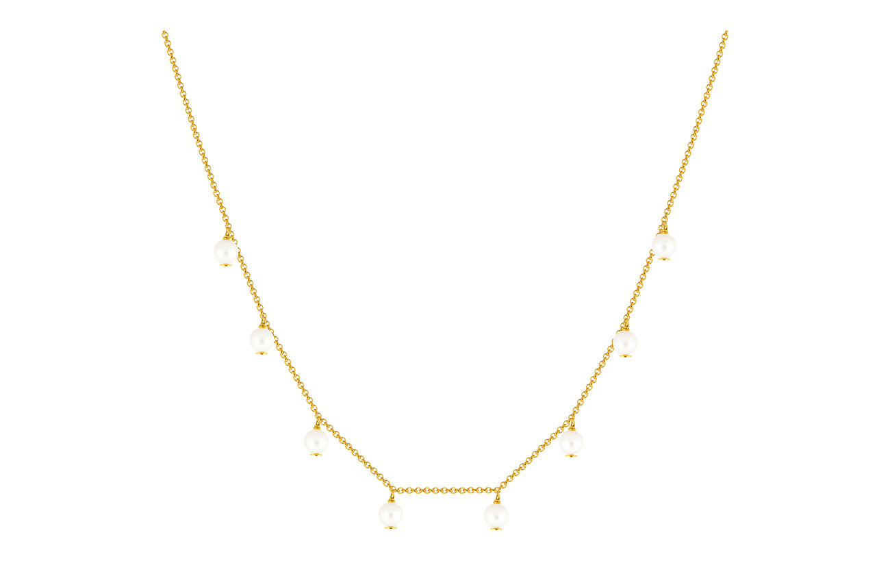 SOPHIE by SOPHIE Funky pearl necklace - GOLD