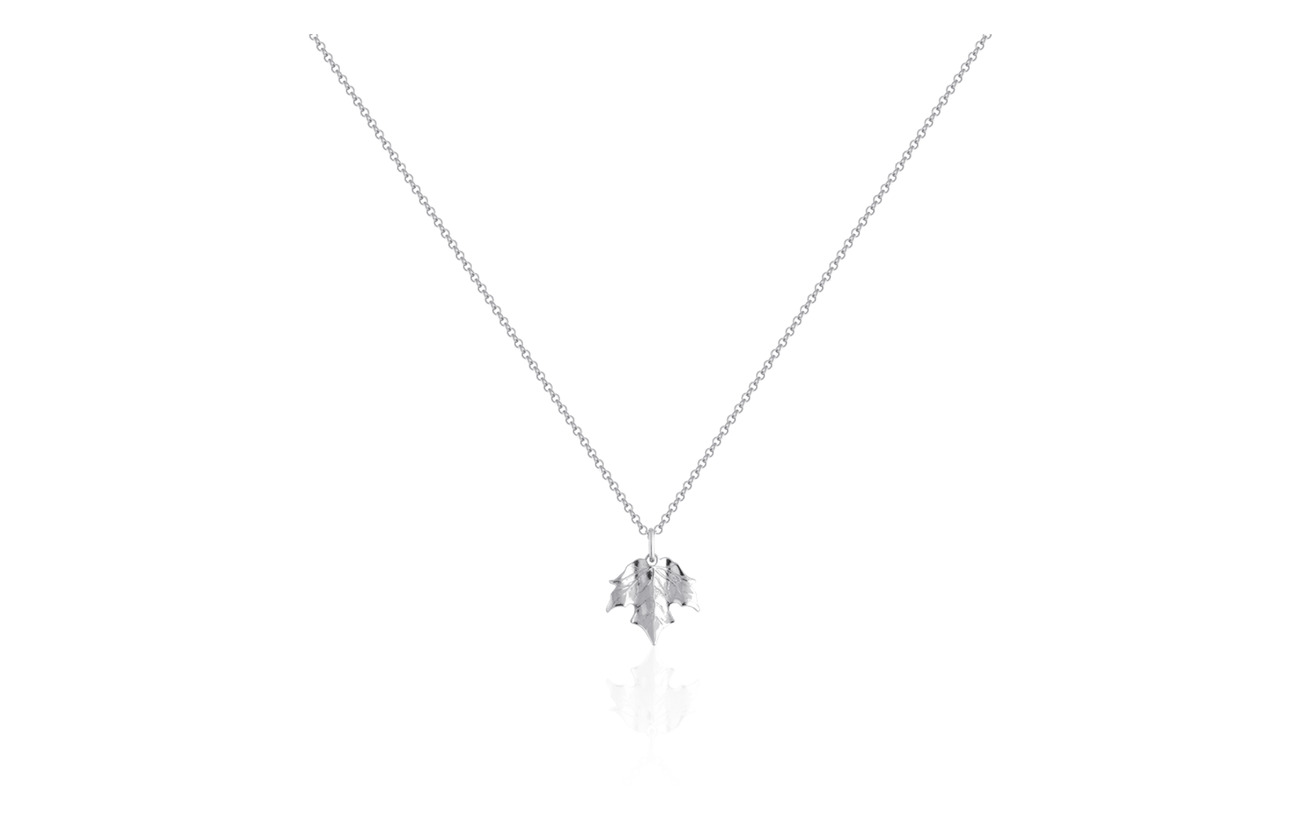 SOPHIE by SOPHIE Maple necklace - SILVER