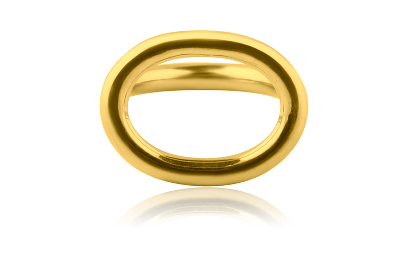 SOPHIE by SOPHIE Link ring - GOLD