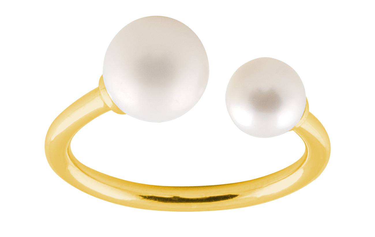 SOPHIE by SOPHIE Funky pearl ring - GOLD