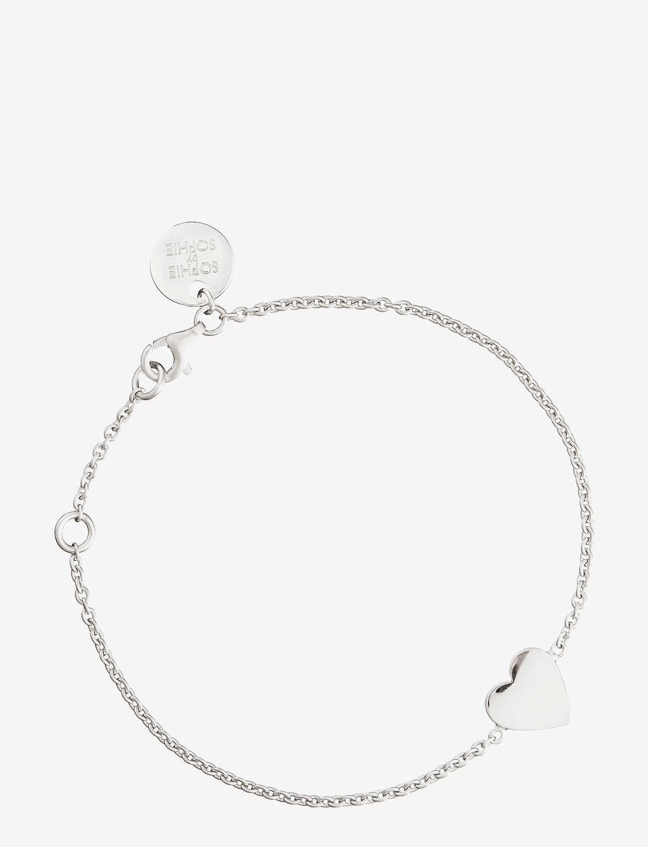 SOPHIE by SOPHIE - Heart bracelet - dainty - silver - 0