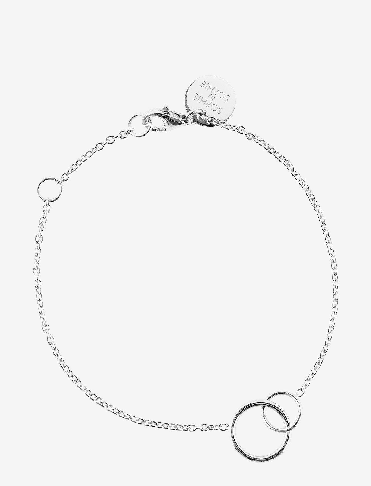 SOPHIE by SOPHIE - Circle bracelet - stilīgs - silver - 0