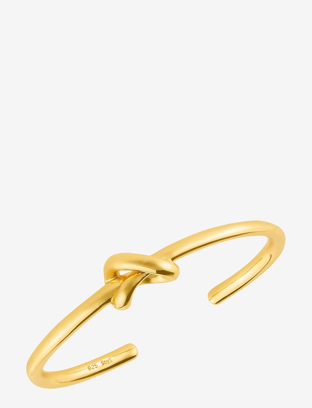 SOPHIE by SOPHIE - Knot cuff - rokassprādzes - gold - 0