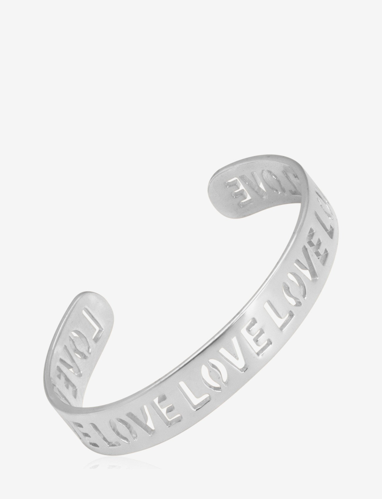 SOPHIE by SOPHIE - Love Cuff - bangles - silver - 0