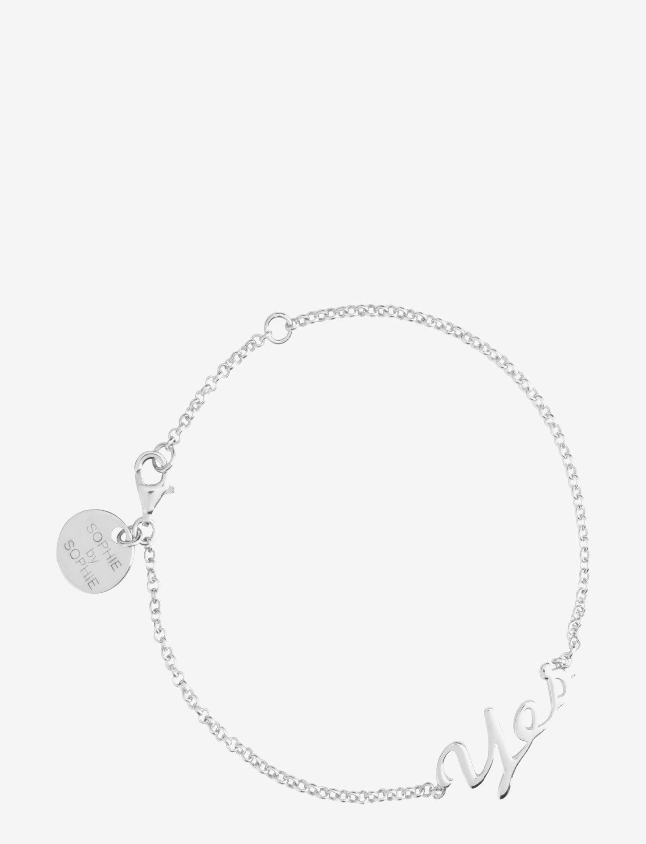 SOPHIE by SOPHIE - Yes Bracelet - dainty - silver - 0