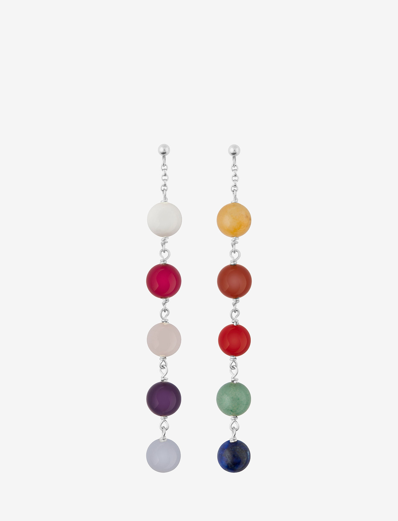 SOPHIE by SOPHIE - Childhood earrings - statement-øreringe - silver - 1