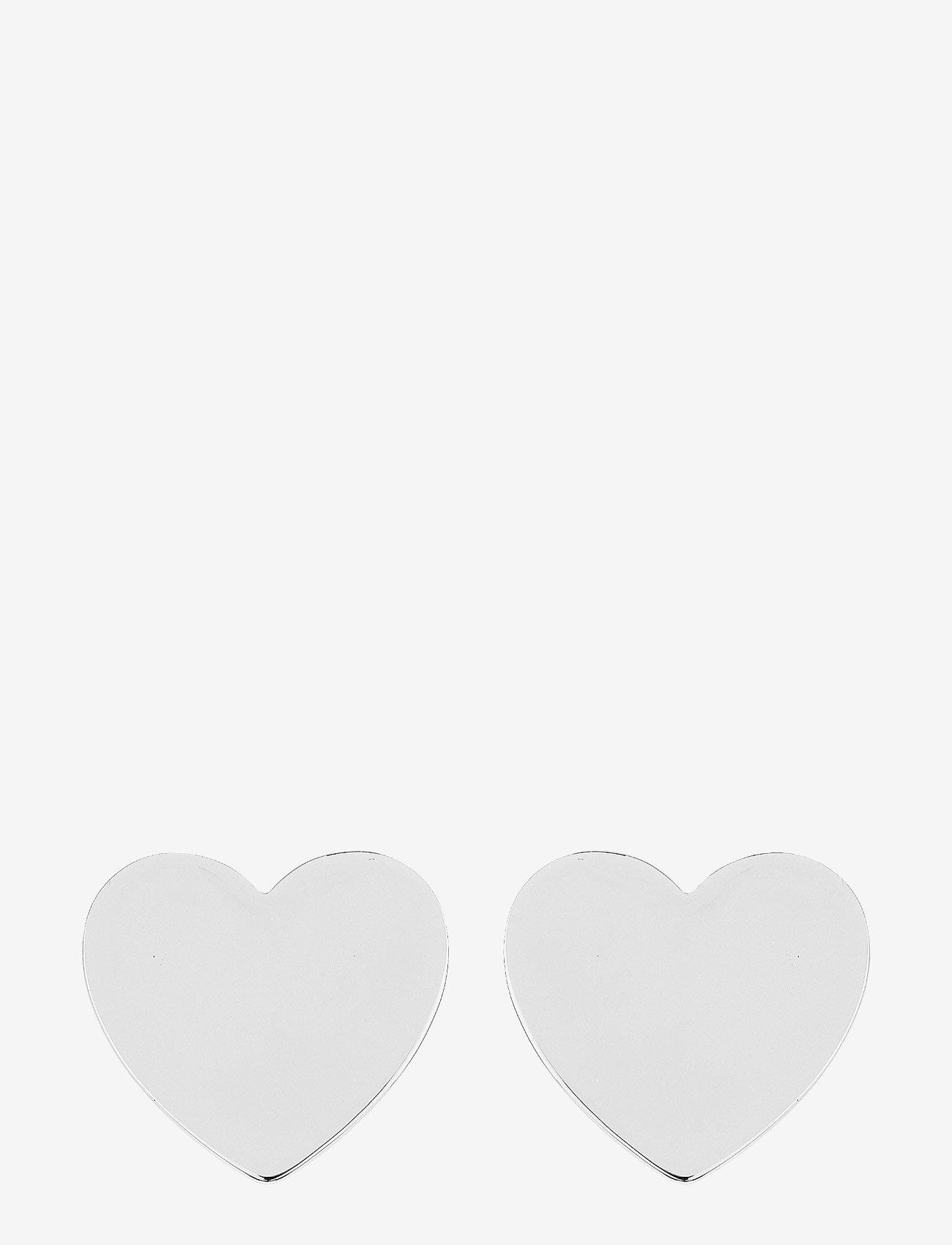 SOPHIE by SOPHIE - Heart mini studs - nagliņauskari - silver - 0