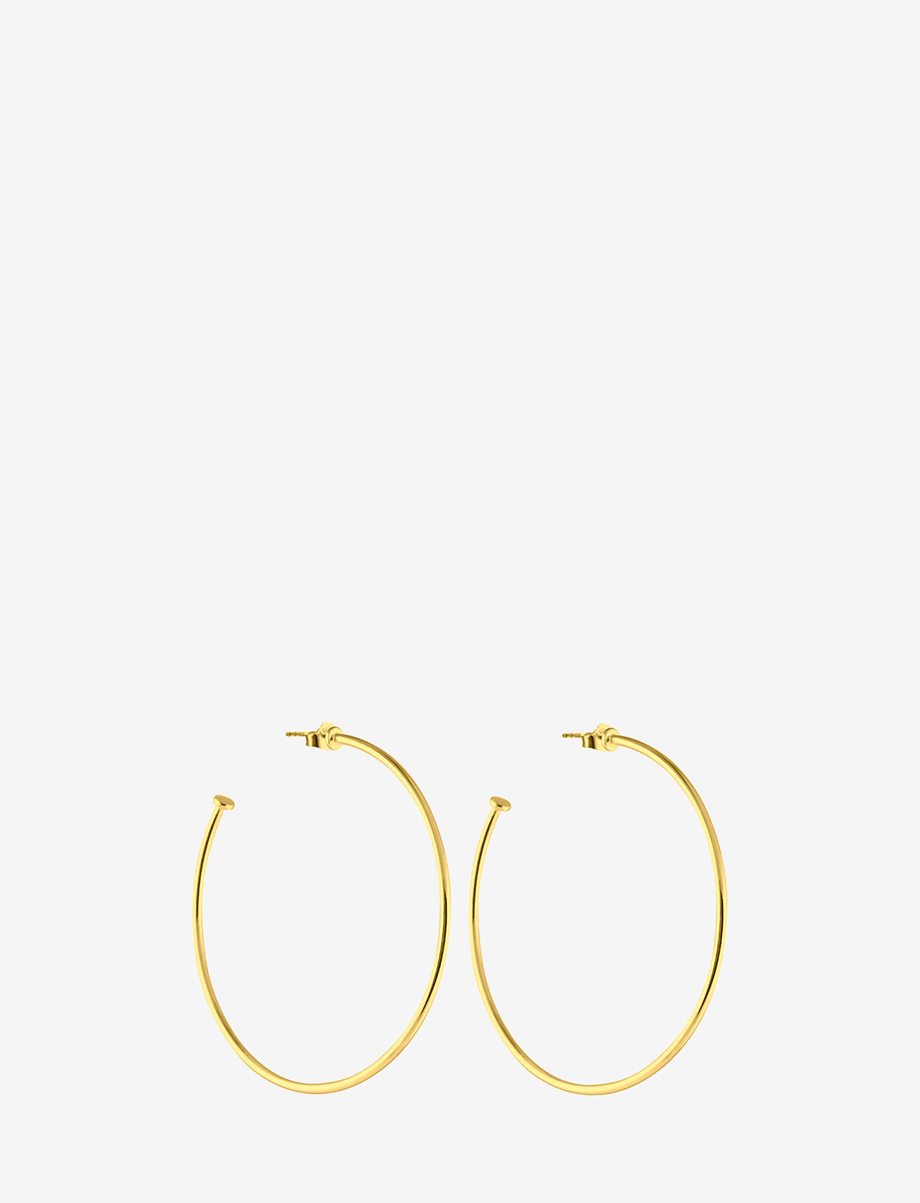 SOPHIE by SOPHIE - Hoops platesize large - studs - gold - 0