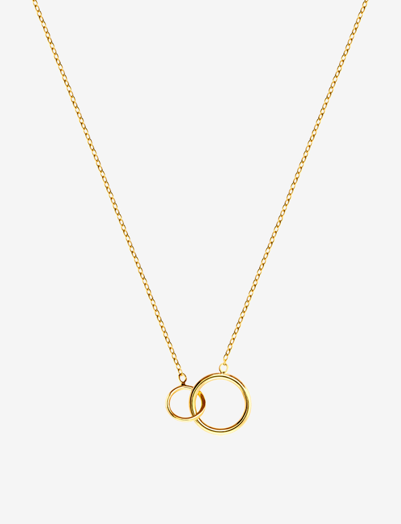 SOPHIE by SOPHIE - Mini circle necklace - kaklarotas ar kulonu - gold - 0