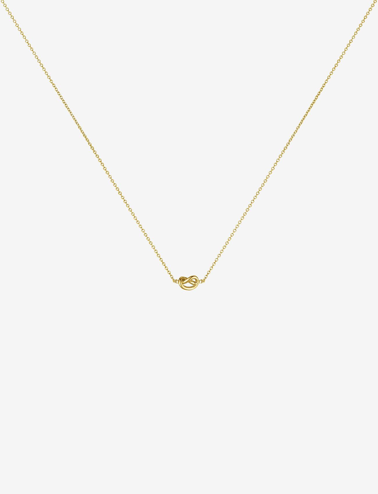 SOPHIE by SOPHIE - Knot necklace - kaklarotas ar kulonu - gold - 0