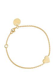 Heart bracelet - GOLD
