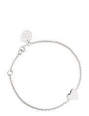 Heart bracelet - SILVER