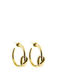Knot hoops - GOLD