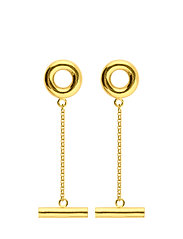 Circlebar Earrings - GOLD