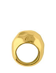 Hammered ring - GOLD