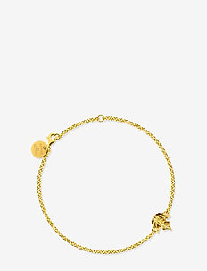 Maple bracelet - dainty - gold