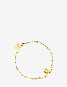 Loopy bracelet - dainty - gold