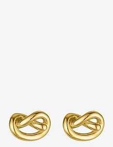 Knot studs - Ørestikker - gold