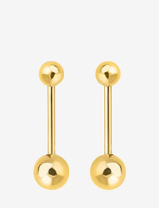 Planet stick earring - GOLD