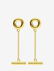 Circlebar Earrings - GOLD