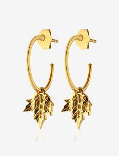 Maple mini hoops - GOLD