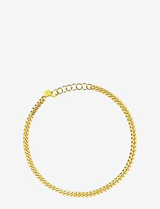 Pansar thin necklace - dainty - gold