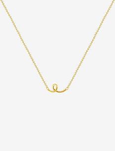 Loopy necklace - halskæder - gold
