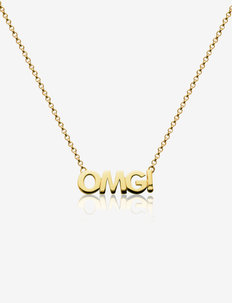 OMG Capital Necklace - dainty necklaces - gold