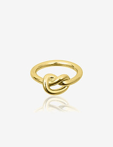 Knot ring - ringer - gold