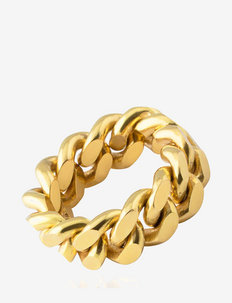 Pansar thin ring - rings - gold