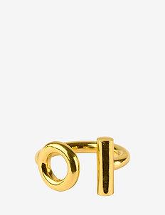 Circlebar ring - GOLD