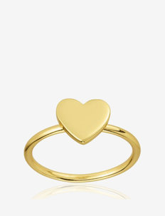 Heart ring - rings - gold