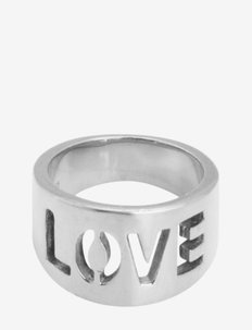 Love Ring - rings - silver