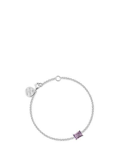 Emerald-cut bracelet - SILVER