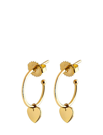 Mini hoops heart - GOLD