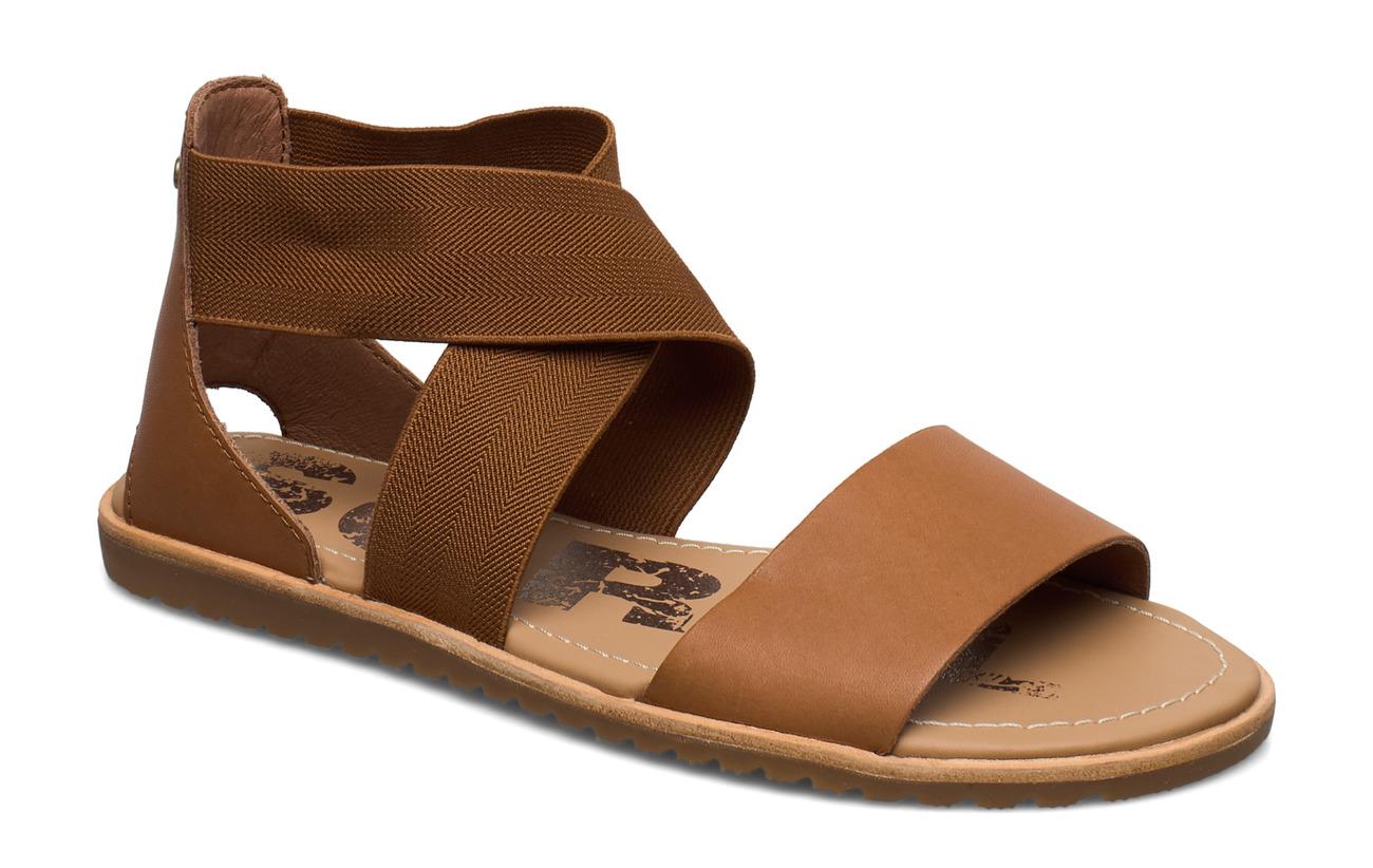 Sorel Ella™ Sandal (Camel Brown), (45