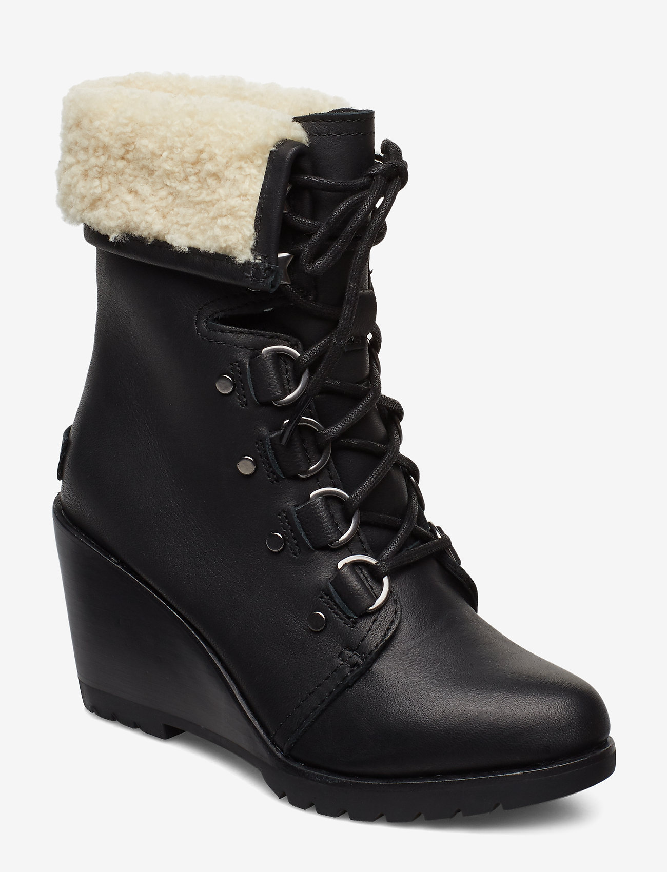 Sorel - AFTER HOURS LACE UP SHEA - heeled ankle boots - black - 0