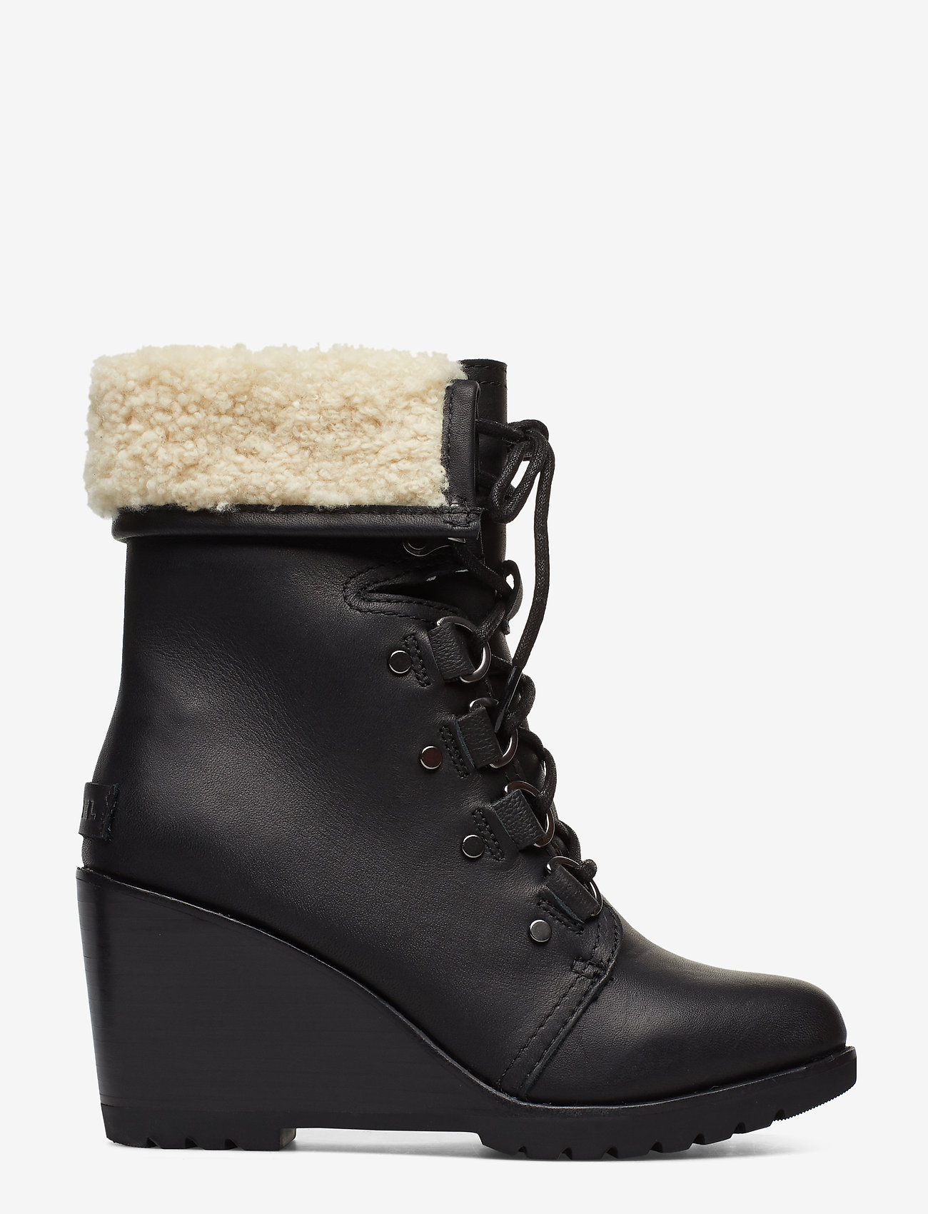 Sorel - AFTER HOURS LACE UP SHEA - heeled ankle boots - black - 1