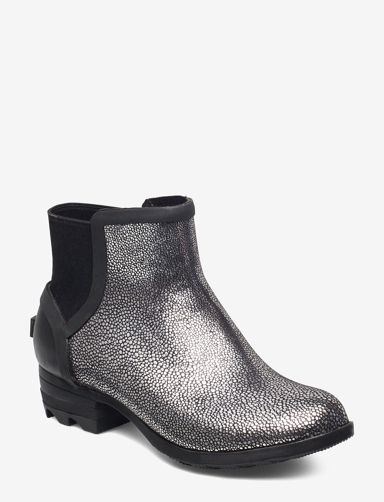 Sorel - JANEY CHELSEA- Metallic - bottes de pluie - black, pure silver - 0
