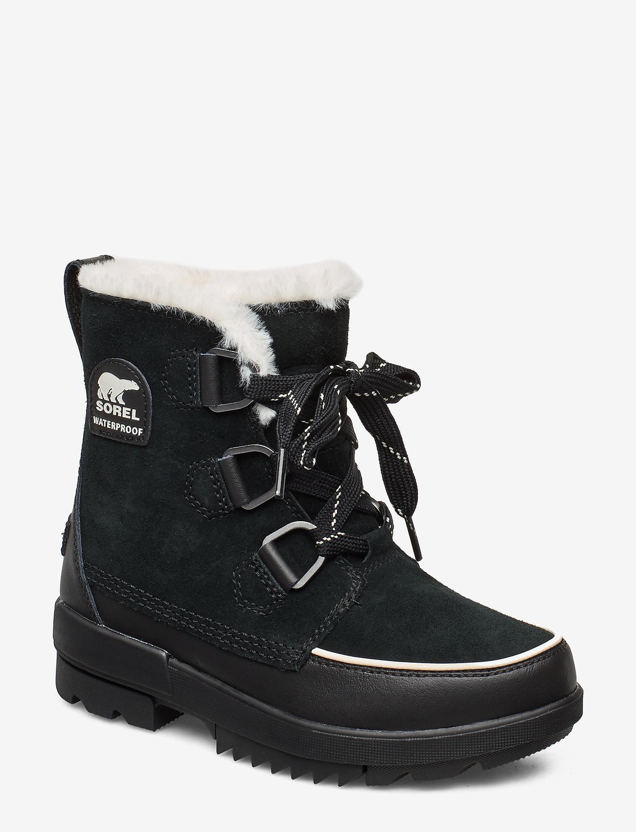 Sorel - TORINO II WP - flat ankle boots - black - 0