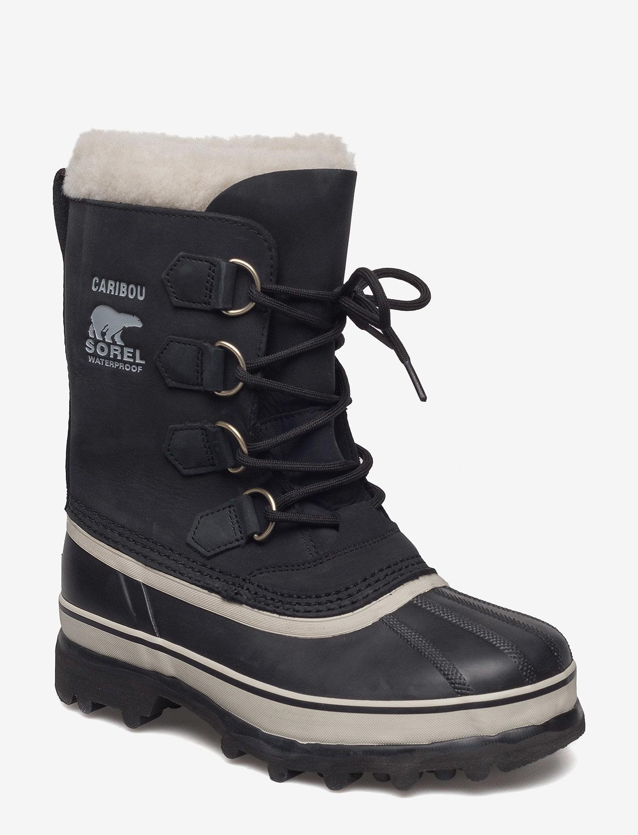 Sorel - CARIBOU™ - pitkävartiset saappaat - black, stone - 0