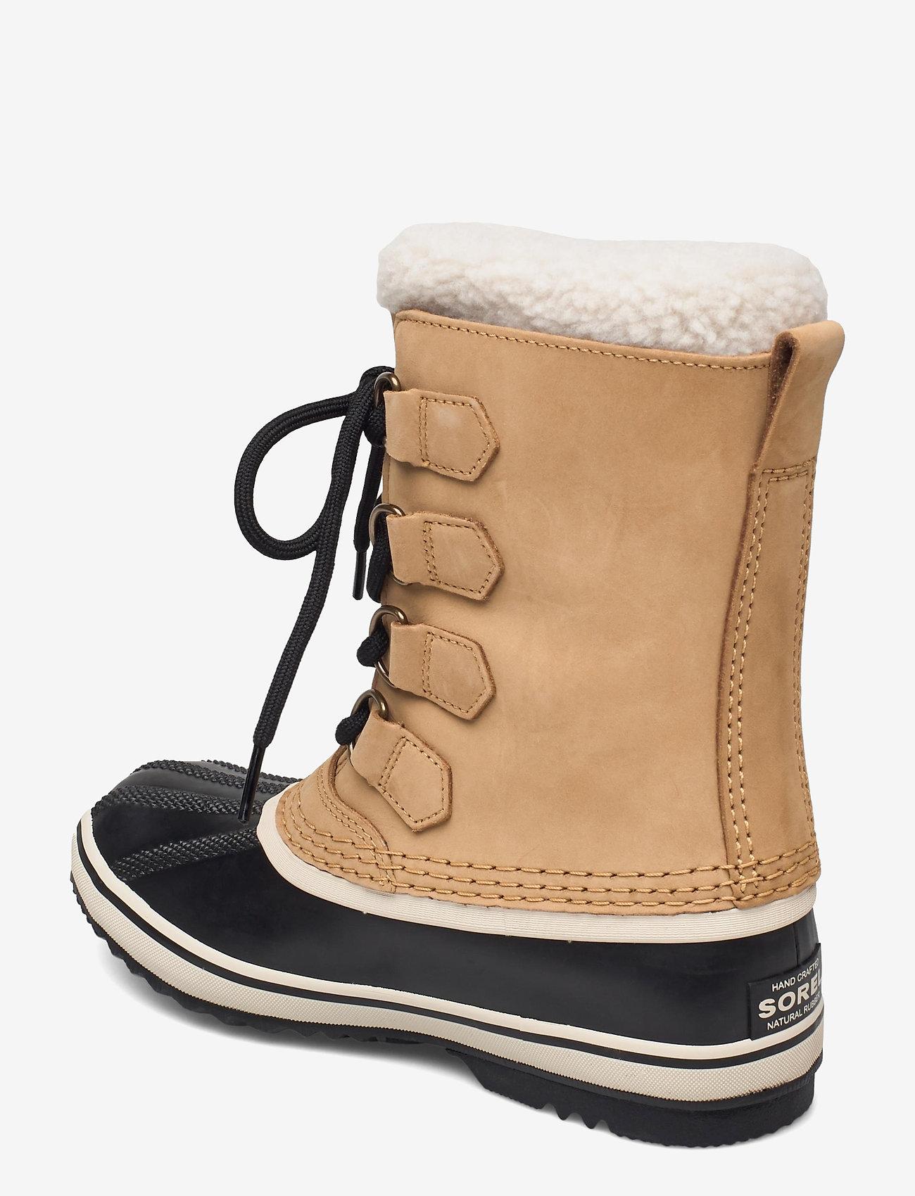 Sorel - 1964 PAC 2 WP - gevoerde schoenen - buff, black - 1