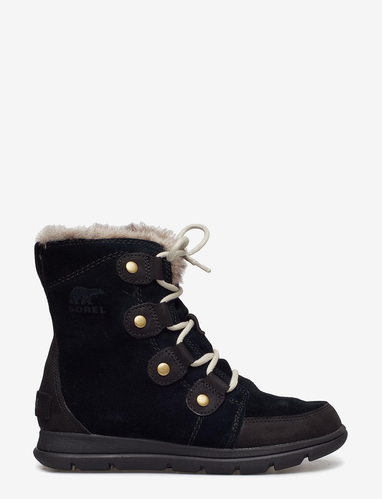 Sorel - SOREL™ EXPLORER JOAN - flat ankle boots - black, dark stone - 1