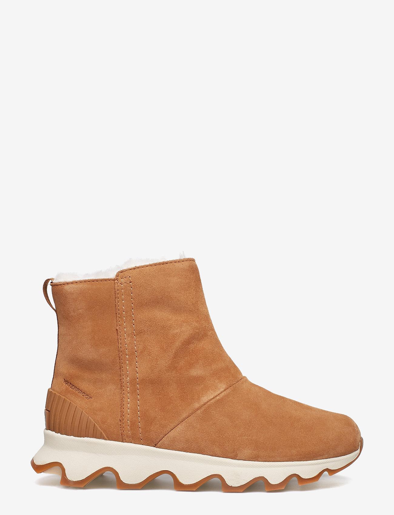 Sorel - KINETIC SHORT - platta ankelboots - camel brown