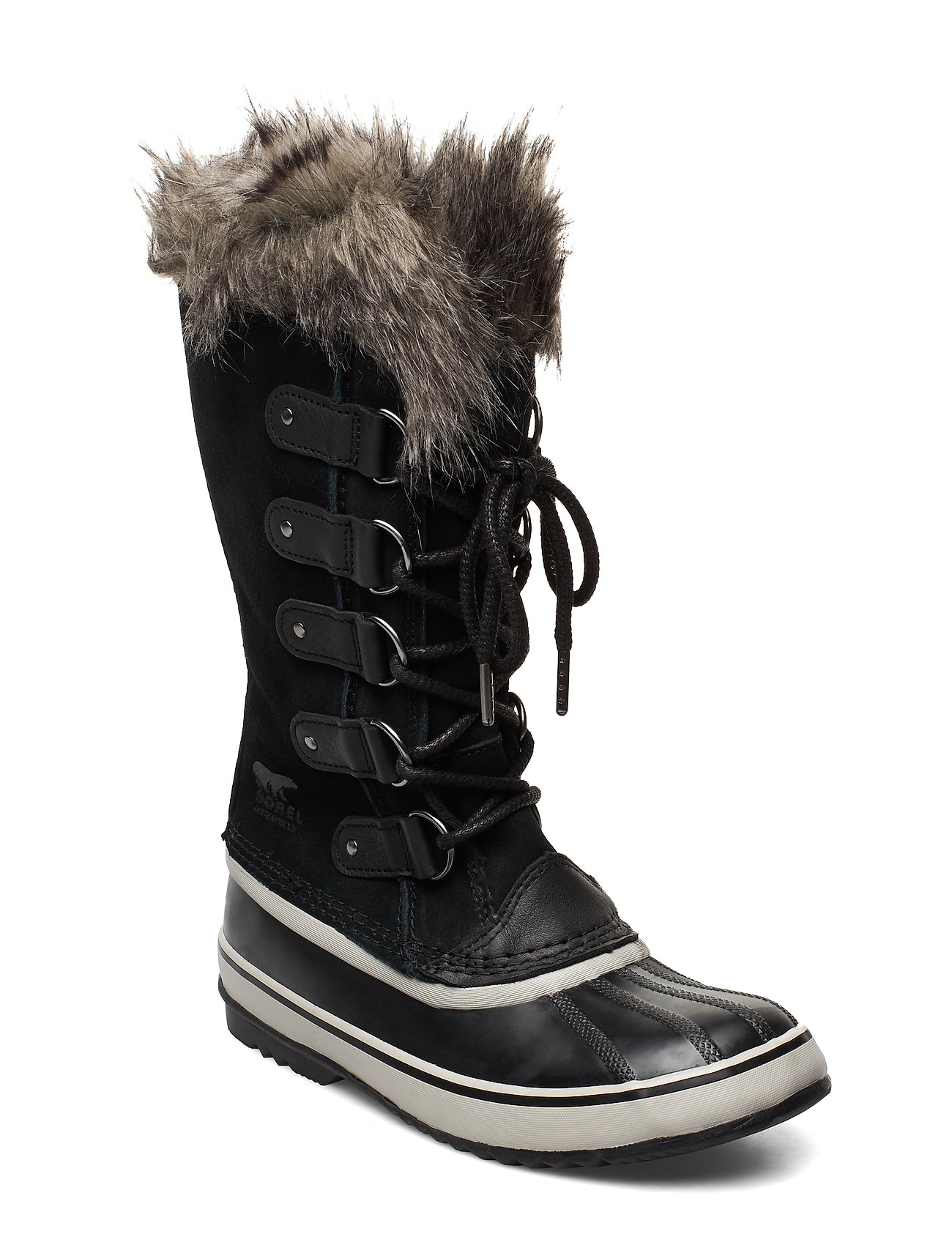 Sorel JOAN OF ARCTIC - BLACK, QUARRY