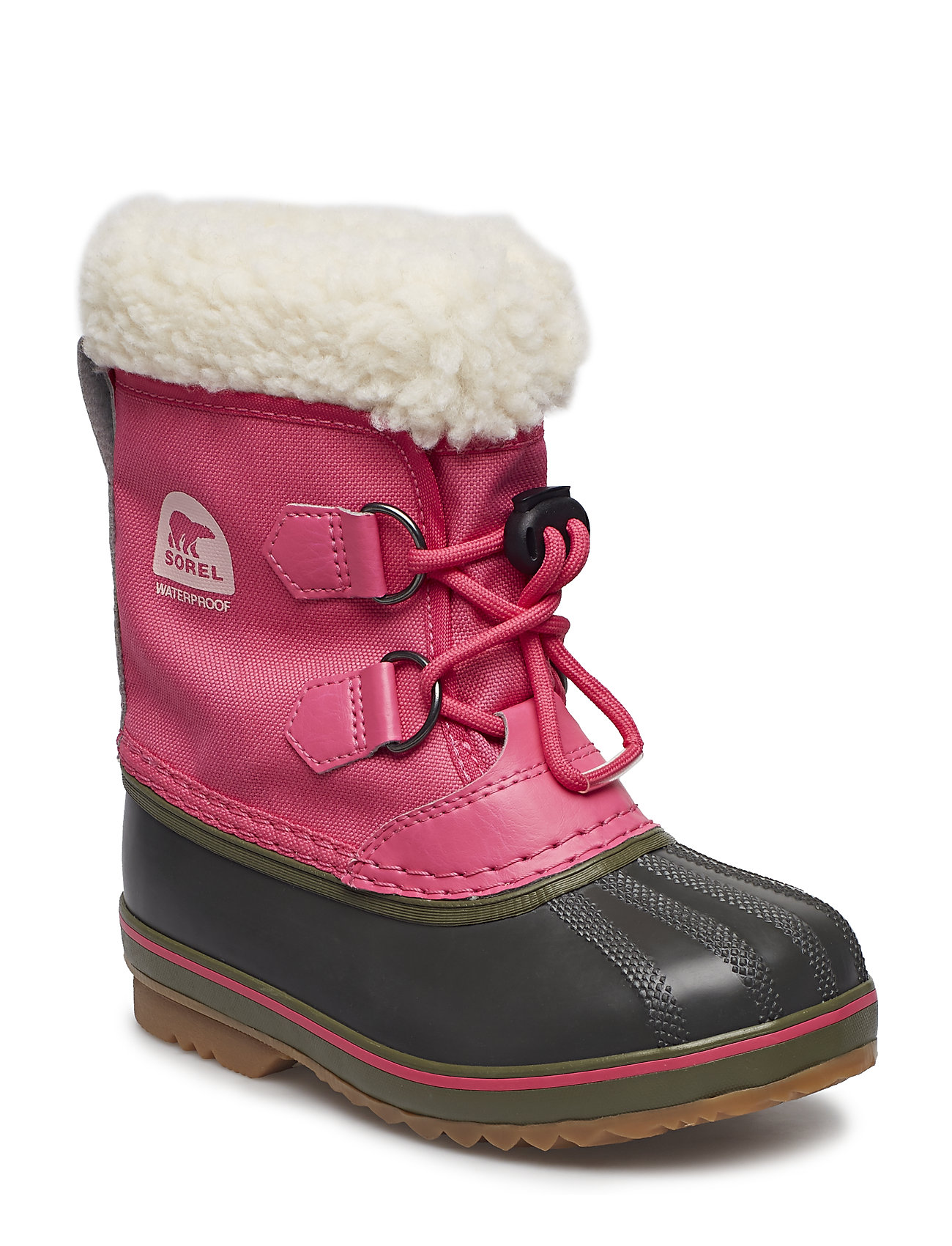 Sorel Childrens Yoot Pac Nylon - ULTRA PINK, ALPINE TUNDRA