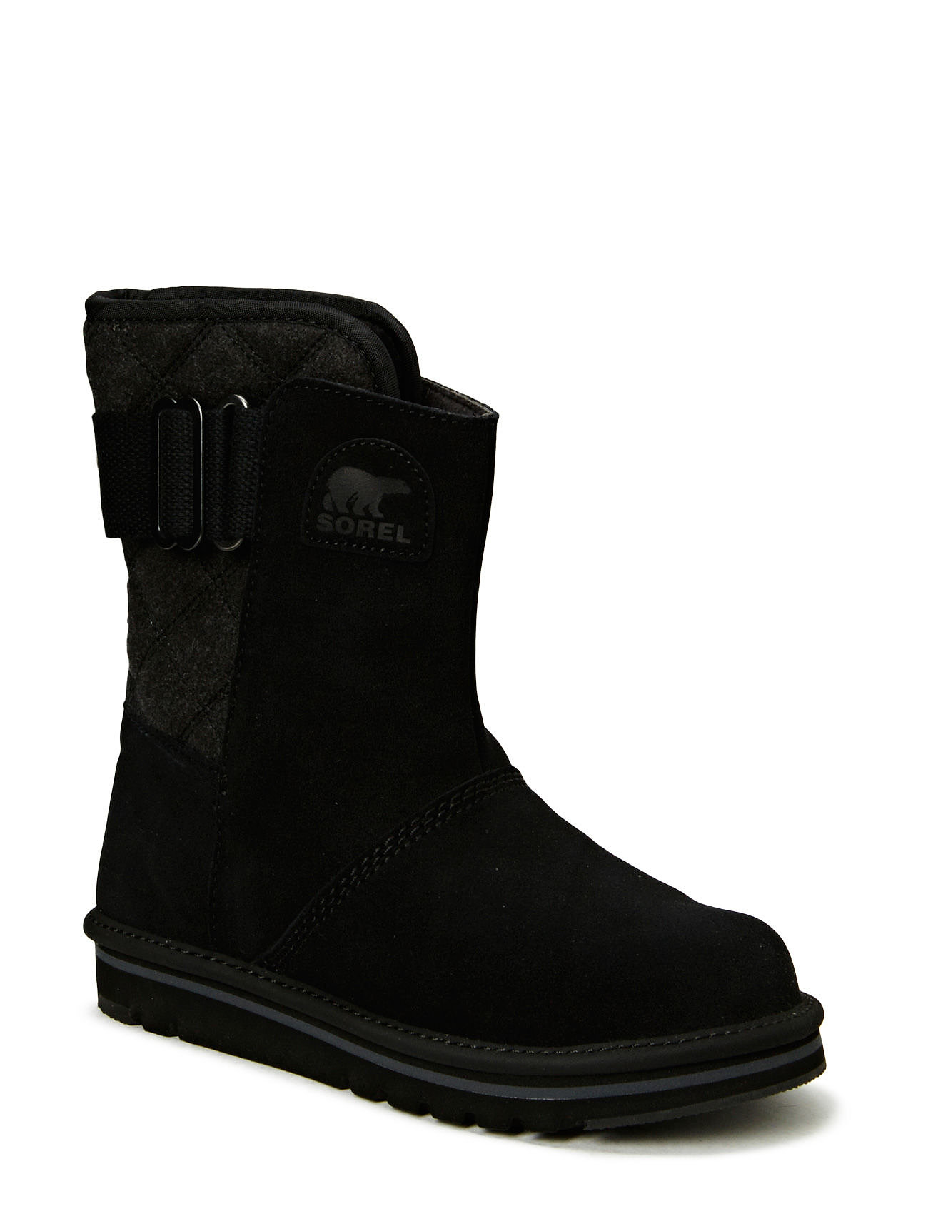 Sorel NEWBIE - BLACK, GRILL