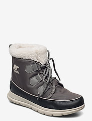 Sorel - SOREL™ EXPLORER CARNIVAL - flat ankle boots - quarry - 0