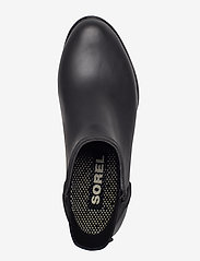 Sorel - JANEY CHELSEA - gummistøvler - matte-black, sea salt - 3