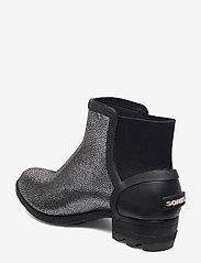 Sorel - JANEY CHELSEA- Metallic - bottes de pluie - black, pure silver - 2